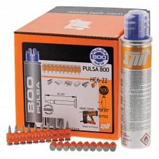 Cutie cuie si gaz pentru pistol Spit HC6 22 mm